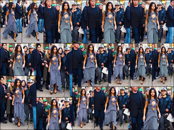 - 08.02.17'─' Selena Gomez quittait la conférence de presse pour « 13 Reasons Why » encore à New York City ![/s#00000ize]Aucune photographies de bonne qualité lors de la conférence n'est disponibles pour le moment. De retour à l'hôtel, SG a encore posé avec ses fans. -