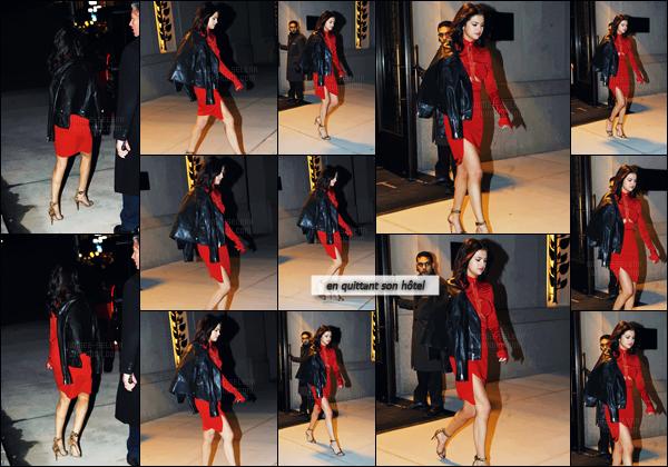 - 14.02.17'─'Selena Gomez assistait au défilé de mode de la marque « Coach » à la Fashion-Week de New York ![/s#00000ize]Reste à voir si elle reste pour la Fashion-Week ! La veille, il semblerait que Selena se soit rendue à l'after-party des Grammy's avec son petit ami. -