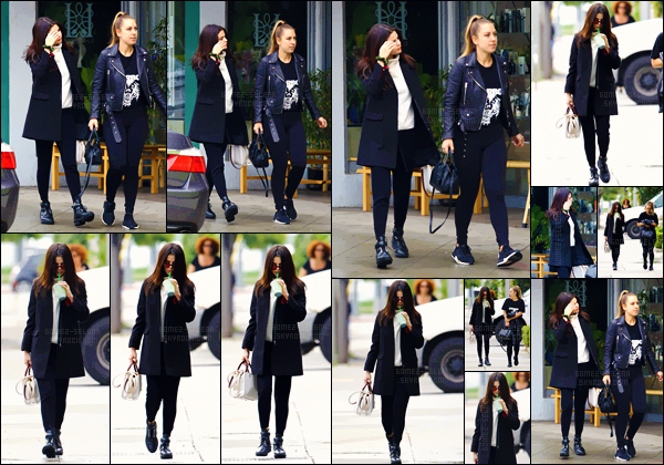 - 21.02.17'─'Selena Gomez se promenait dans les rues d'un quartier commerçant de Los Angeles avec une copine ![/s#00000ize]Selena se trouve à nouveau à LA après avoir passé un court séjour dans New York - en raison d'un défilé de la marque Coach lors de la Fashion-Week. -
