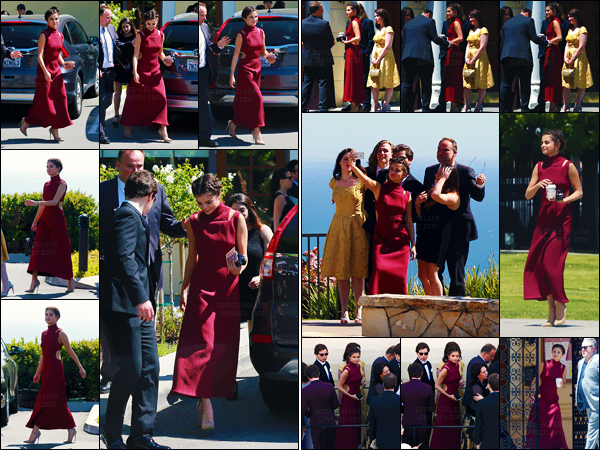 - ''21.04.17'-''─''Selena Gomez était présente lors du mariage de l'acteur David Henrie qui avait lieu à Wilmington ![/s#00000ize]À l'occasion du mariage de son ancien co-star et sa future femme Maria Cahill, le casting de la sitcom Disney Wizards of Waverly Place, était présent. -