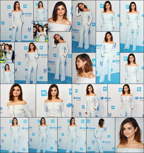 - ''27.04.17'-''─''Selena Gomez était présente à l'événement caritatif annuel « We Day » dans la ville de Inglewood ![/s#00000ize]Étant porte-parole de la cause de la fondation, Sel a fait plusieurs apparitions sur la scène lors de l'événement qui amasse des dons pour les enfants. -