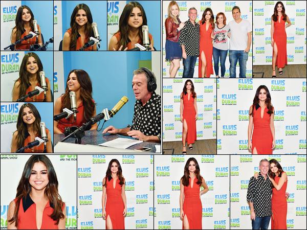 - ''05.06.17'-''─''Selena Gomez était présente en ondes lors du « The Morning Show » avec Elvis Duran, à NYC ![/s#00000ize]Très amis avec les célébrités, Elvis Duran reçoit le plus souvent les chanteurs à son émission de radio, et Selena Gomez n'y a donc pas fait d'exception ... -