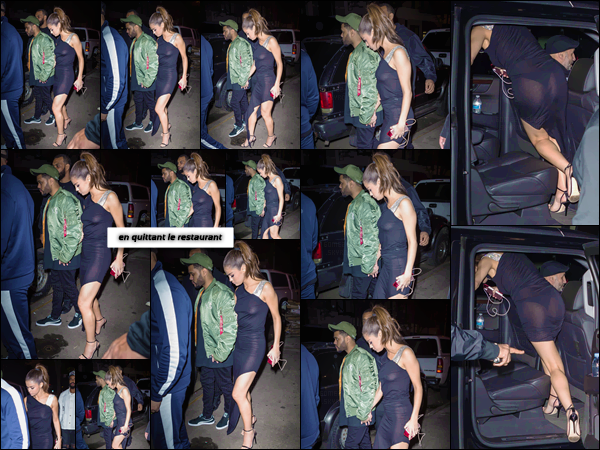 - ''06.06.17'-''─''Selena Gomez ainsi que son copain Abel Tesfaye, se rendait dans un restaurant new-yorkais ! [/s#00000ize]Un choix judicieux ou risqué pour Selena ? Si la robe qu'elle porte fait sensation au départ, elle nous offre une vue sur ses tétons et sa culotte. Un bof... -