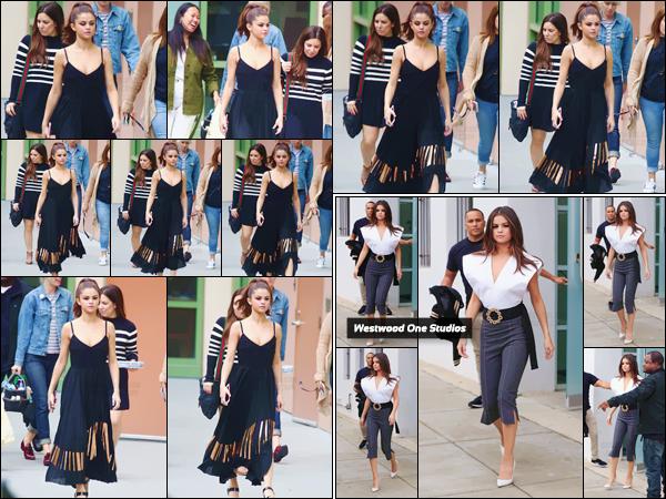 - ''08.06.17'-''─''Selena Gomez arrivait dans les studios locaux de la « Disney Radio » à Burbank en Californie ! [/s#00000ize]Dans une tenue différente, Selena quittait les Westwood One Studios, et il y aurait apparemment eu un accident avec son haut : ses tétons bien visibles. -