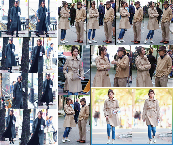 - '-11/09/17-'''✈''Selena Gomez était présente sur le tournage du prochain film de Woody Allen, à New York City. Selena avait été annoncée comme l'une des leads du prochain film du célèbre réalisateur Woody Allen : ce qui est une très grande opportunité pour elle !-