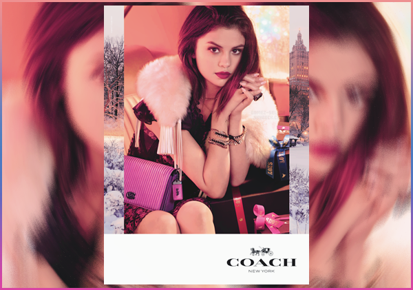 - ▬ Selena Gomez pose pour la collection « The Coach Holiday » et pour la campagne de 2017 !-