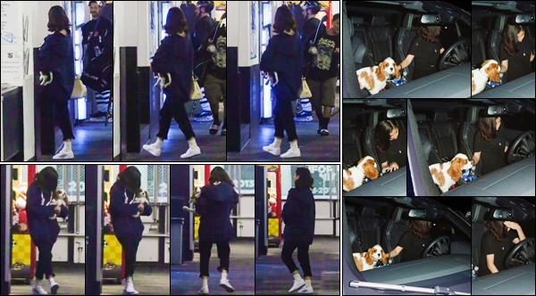 '- '- 15/11/17 -'''◊''Selena Gomez se rendait dans un aréna pour voir Justin Bieber jouer au hockey, à Los Angeles. Entre ses répétitions pour les American Music Awards, Selena prend du temps pour des loisirs ou voir le chanteur canadien, avec son petit chien Charlie !-