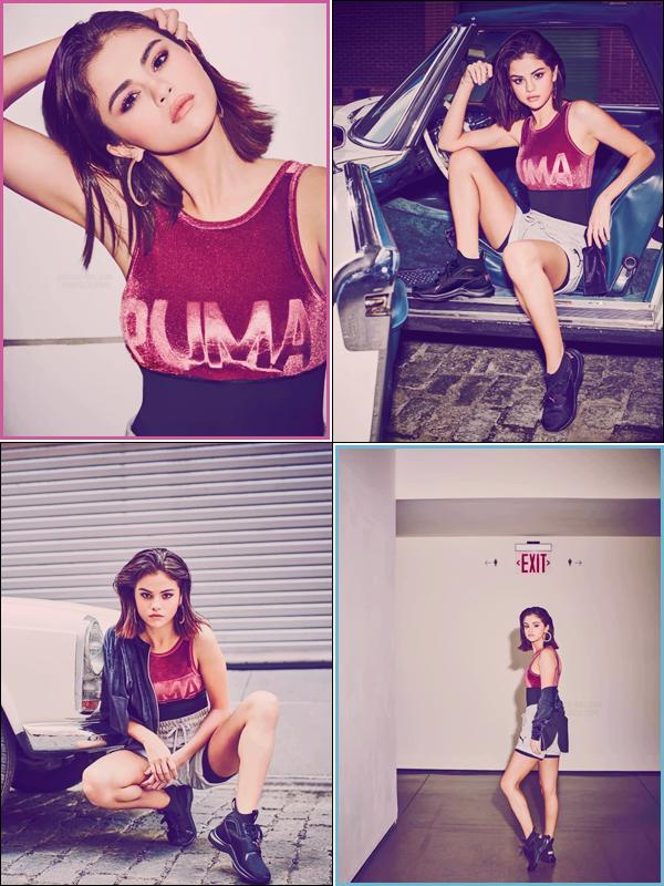 - ▬ Nouveaux clichés pour la collaboration de la marque de sport « Puma » avec Selena Gomez !-