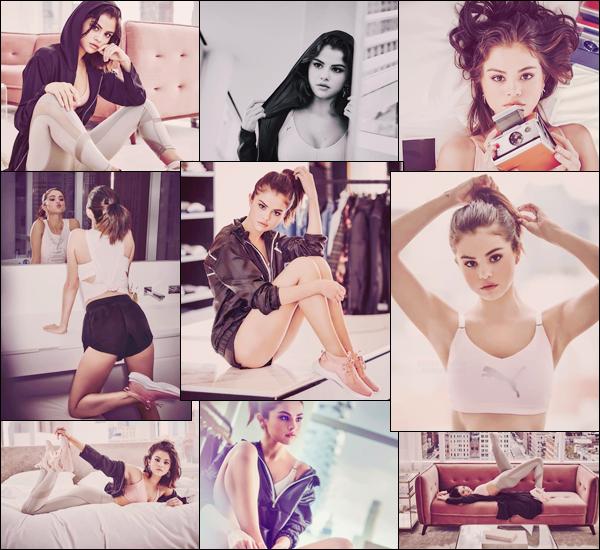 - ▬ Nouveau photoshoot de Selena Gomez pour la nouvelle collection « PUMA » de l'année '18 !-