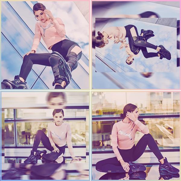 - ▬ Découvrez quatre nouveaux clichés de Selena G. pour « PUMA » et la nouvelle collaboration !-