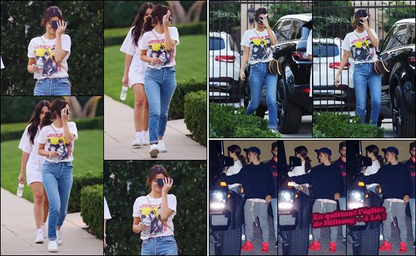'- '-◊-31/01/18-' : Selena a été aperçue alors qu'elle se rendait à un service religieux, se trouvant à Beverly Hills. Notre Selena est bel et bien de retour. C'est après avoir été vue dans la ville de Los Angeles, qu'on la retrouve à l'église avec son boyfriend Justin Bieber.-