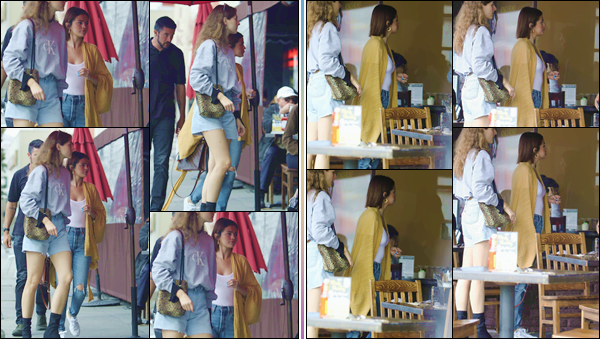 '' '''17/03/18-' • Selena Gomez se rendait au restaurant « Kings Road Cafe » avec son amie Anna, à Beverly Hills. Après avoir été à un rendez-vous chez le médecin, Selena Gomez s'est rendue au restaurant avec sa bonne amie. Un petit top pour Selly !-