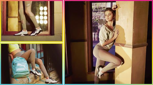 - '-PUMA ●- Découvrez un nouveau cliché de Selena Gomez pour « The Defy » pour la marque de Puma ! -