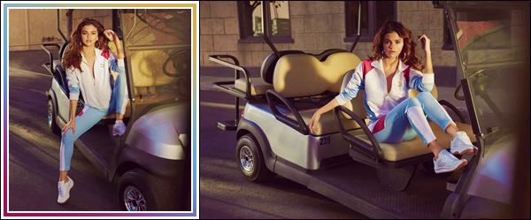 - '-PUMA ●- Selena Gomez prend la pose pour la collection « The California Exotic » pour Puma ! -