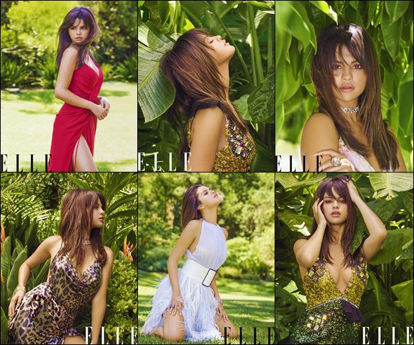 - '-ELLE ●- Selena Gomez fait la couverture du « ELLE US » réalisé par Mariano Vivanco en 2018. -