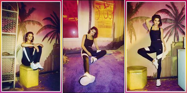 - '-PUMA ●- Découvrez des clichés de Selena pour « The Cali » la collection d'automne/hiver 2018 ! -