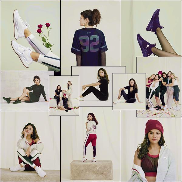 - '-PUMA ●- Selena Gomez prend la pose pour la collection : « Strong Girl », de la marque Puma ! -
