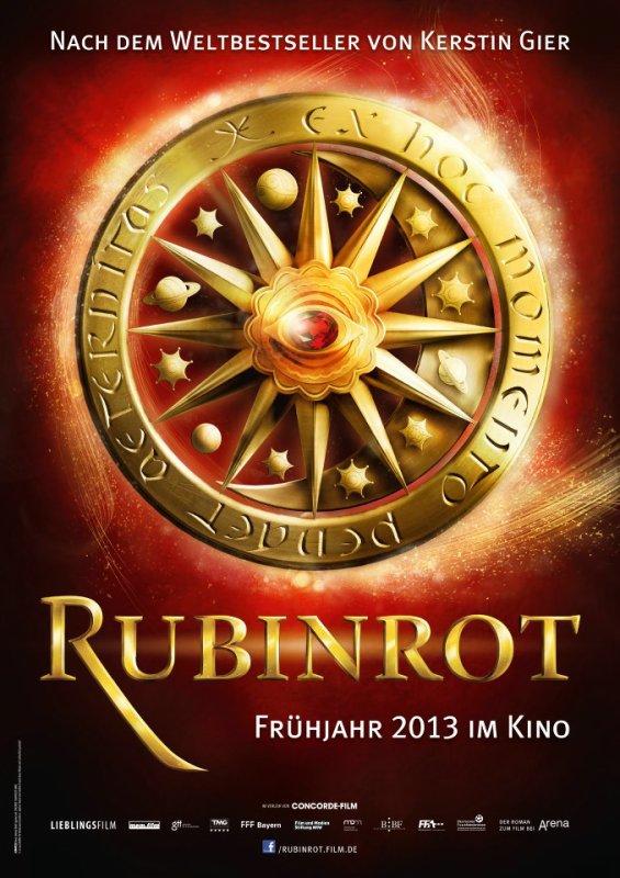 Rouge Rubis, première affiche officielle du film