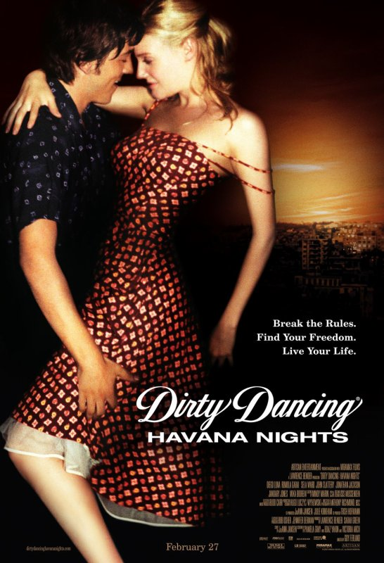 "Film : ""Dirty dancing 2, Havana nights"""