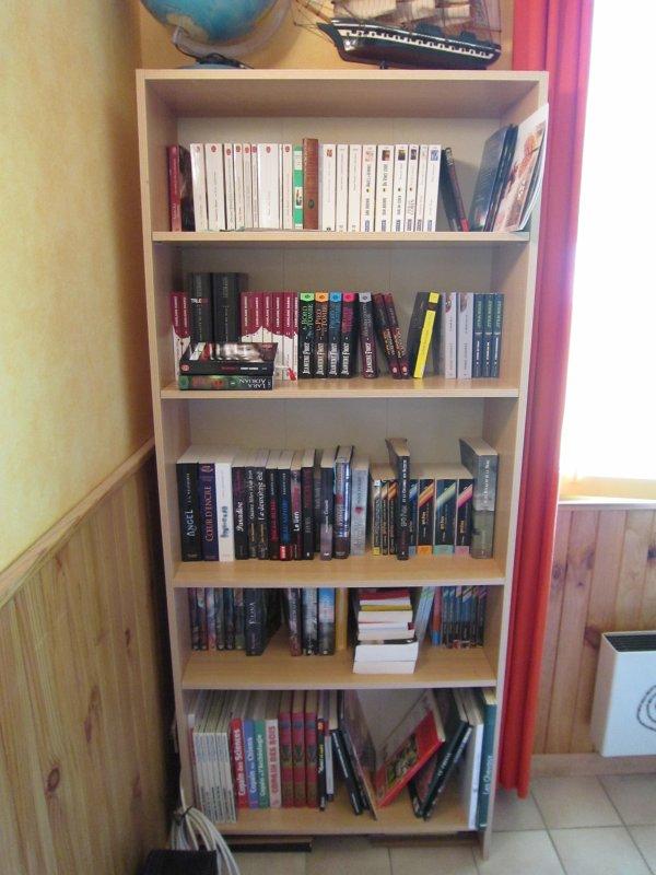 Ma bibliothèque au 18.06.12