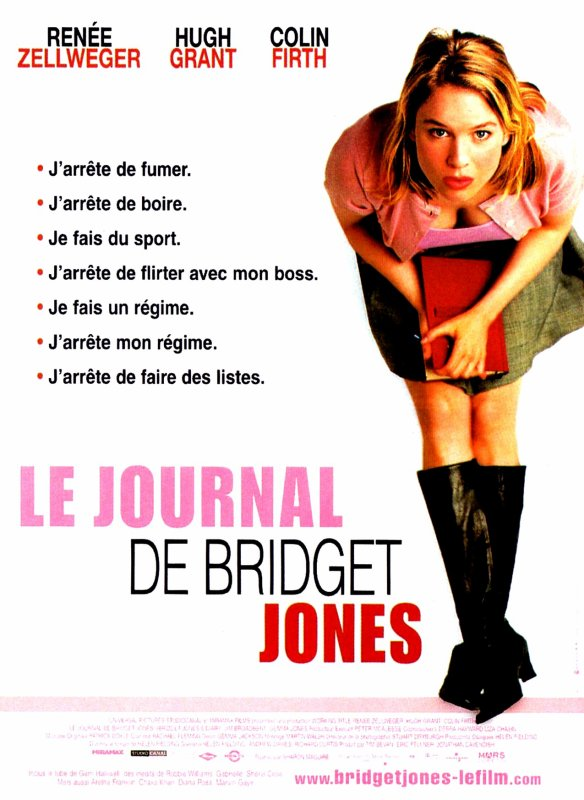 "Film : ""Le journal de Bridget Jones"""