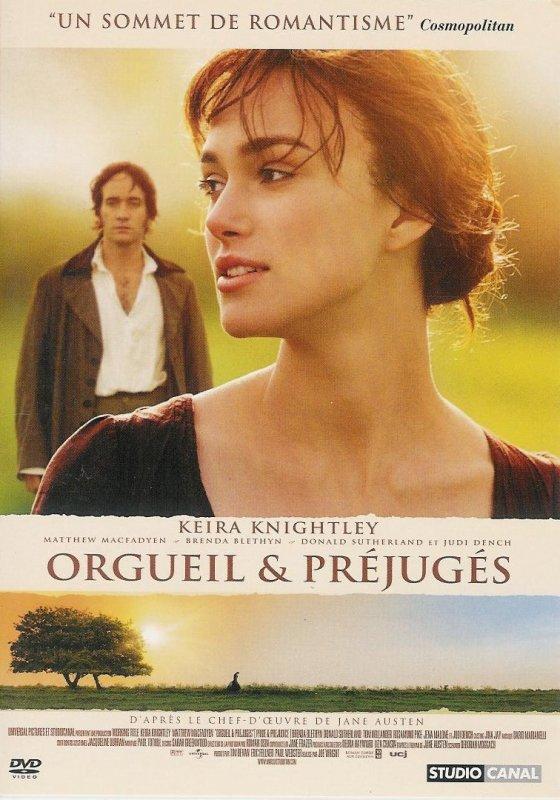 """Film : """"Orgueil et préjugés"""""""