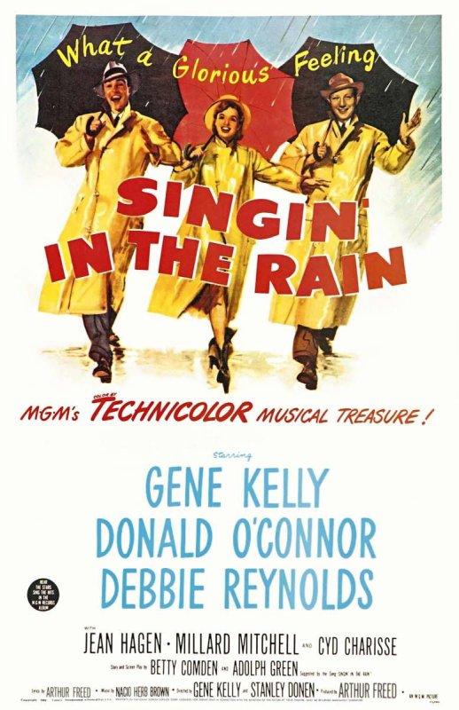 """Film : """"Chantons sous la pluie"""""""