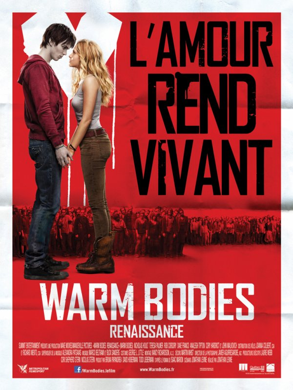 "Film : ""Warm bodies"""