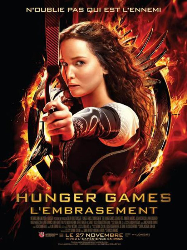 """Film : """"Hunger Games : L'Embrasement"""""""