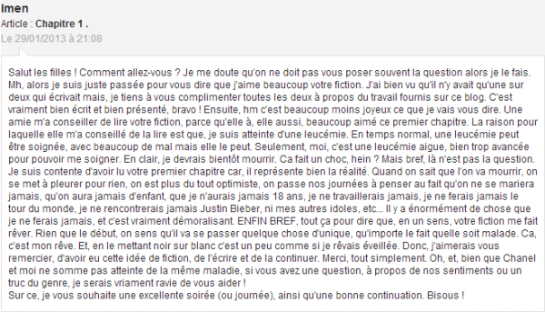 Article Changeant