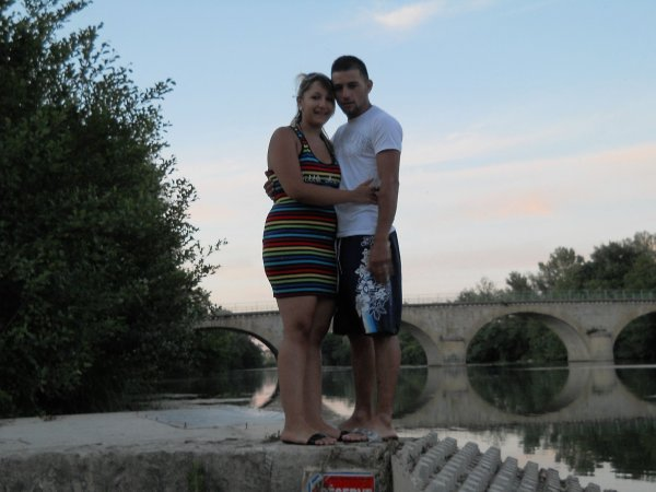 moi et ma vie je taime a la riviere