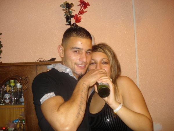 moi et ma fame a noel 2009