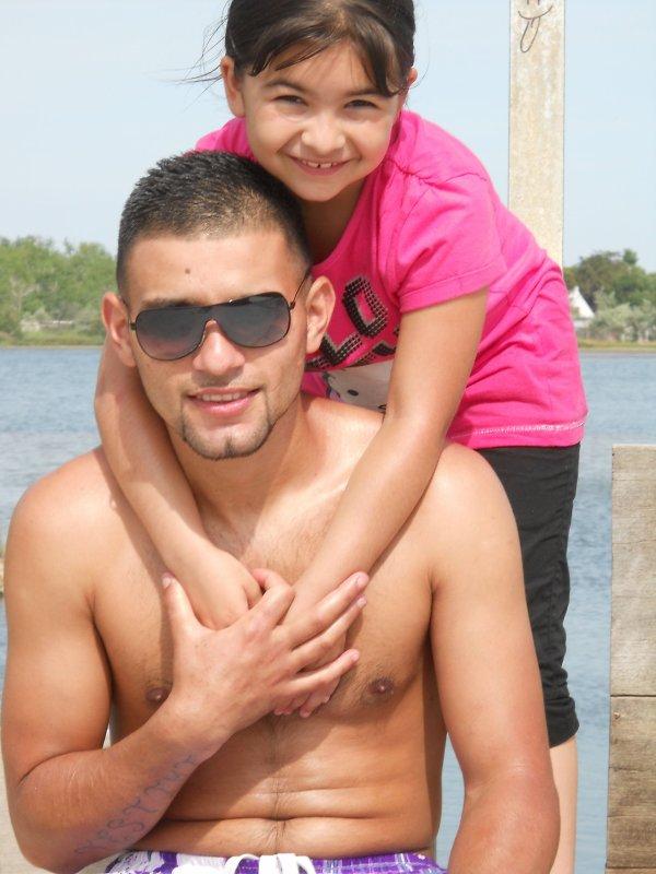 ma niese d'amour a la plage ete 2010 et ma raison de vivre mon homme