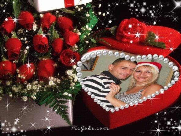 moi et mon amour de ma vie AN MONTAGE CETE POUR NOEL 2010.