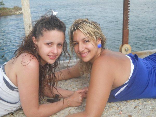 Mon amour de ma vie & ma cousine <3 .