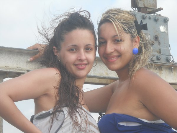 Ma princesse blond & ma  cousine <3