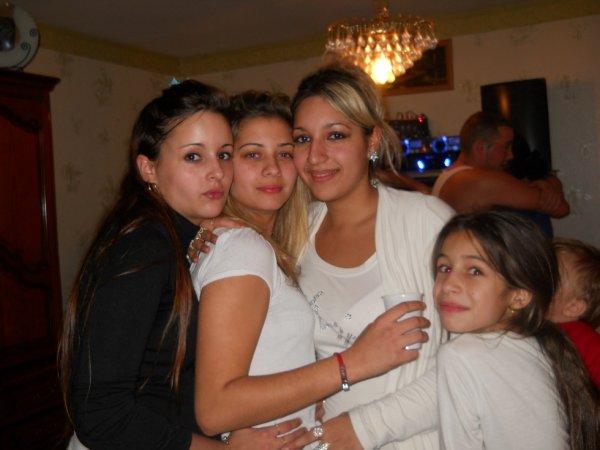 Ma femme de ma vie et mes cousines