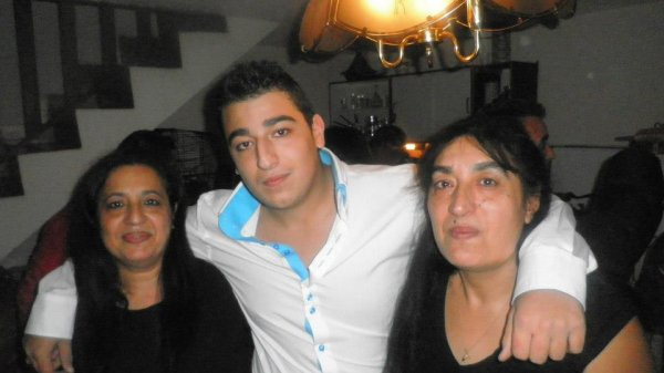 ma  mre ma tante et mon cousin
