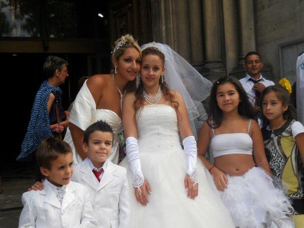 ma star se moi et notre cousine pour son mariage