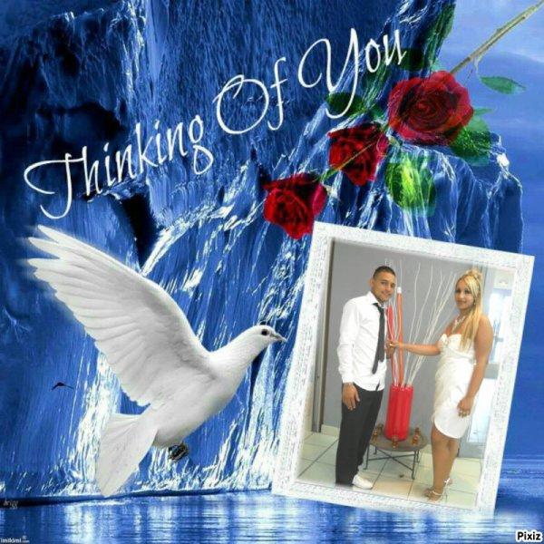 moi et mon ange du ciel moi et toi se pour la vie mon coeur d'amour