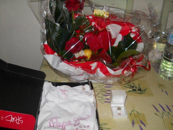 le cadeaux de ma princesse kelle a u pour la saint valantin dvd on se regaler se jour la