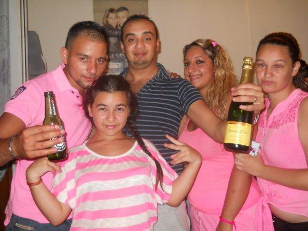 ma perle moi et la famille