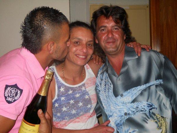 mon homme et ma tante et mon oncle
