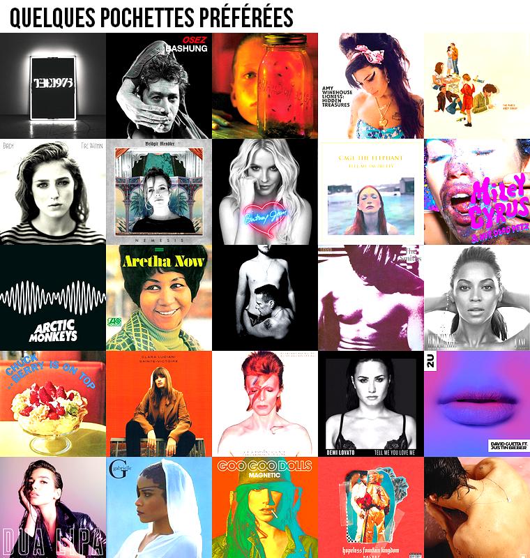 Musique | Quelques pochettes préférées