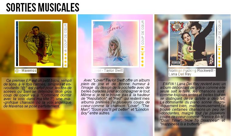 Musique | Sorties musicales