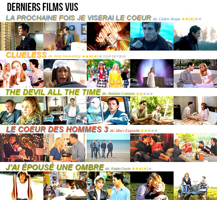 Cinéma   Derniers films vus