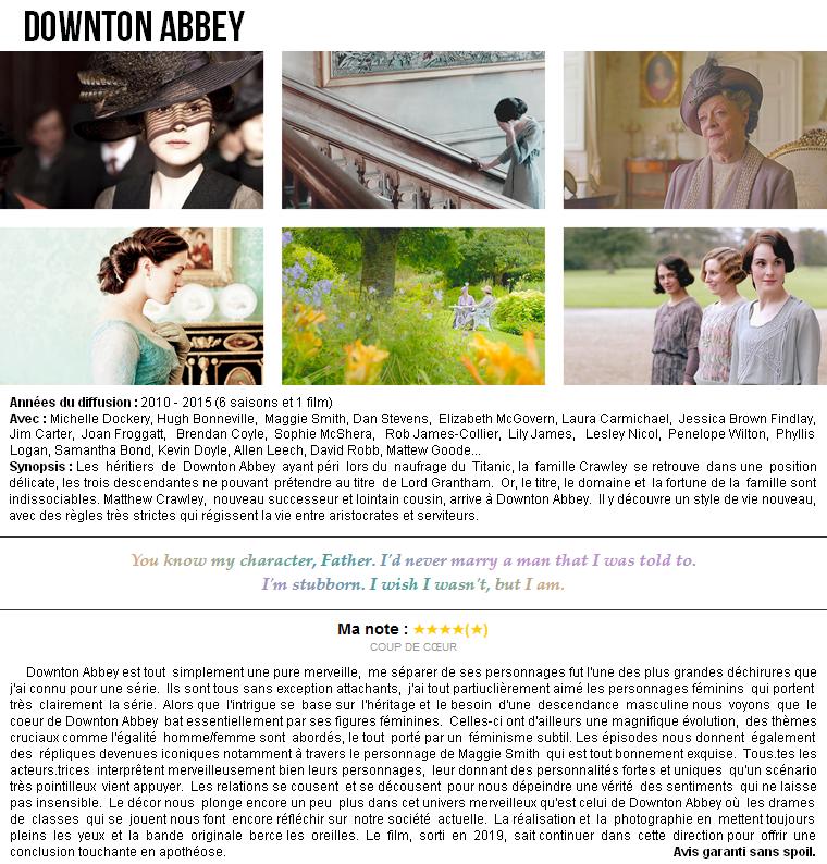 Série | Downton Abbey