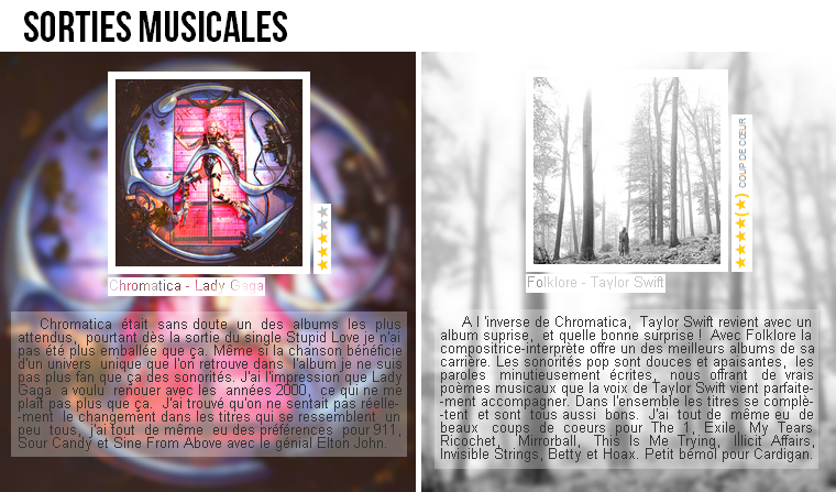 Musique   Sorties musicales