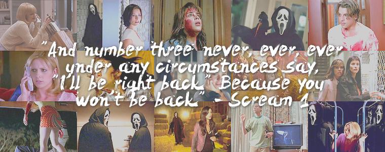 """Cinéma   Saga """"Scream"""""""