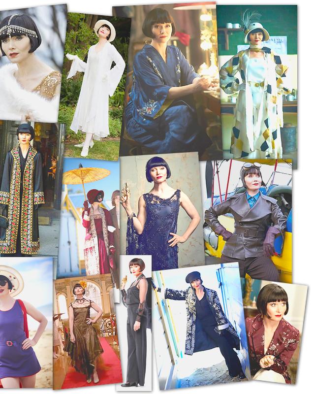 """Série   Les plus beaux costumes dans """"Miss Fisher's Murder Mysteries"""""""